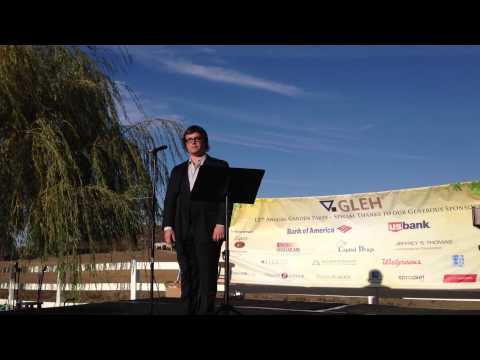 """Jonathan Allen Sings """"You Raise Me Up"""" for G.L.E.H."""