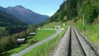 Glacier Express Part 1. A breath-taking journey through magnificent Swiss scenery