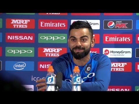 India vs Sri Lanka Post Match Press Conference 8 July 2017