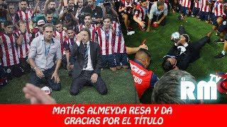 Lo que no viste del festejo de Matías Almeyda (CHIVAS CAMPEÓN)
