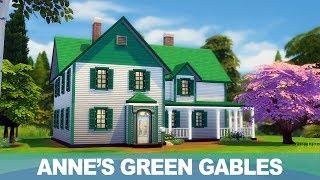 심즈4 건축 - 빨강머리 앤의 집 | The Sims …