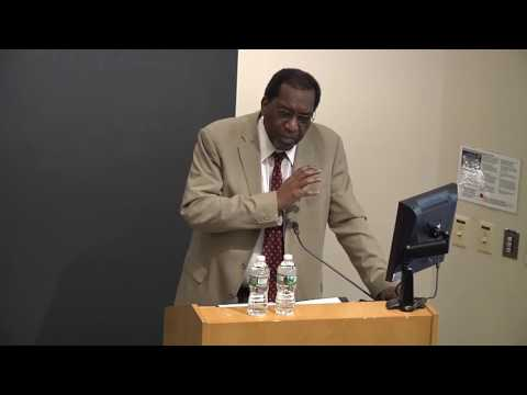 Public Lecture by Charles M. Payne - April 28, 2016