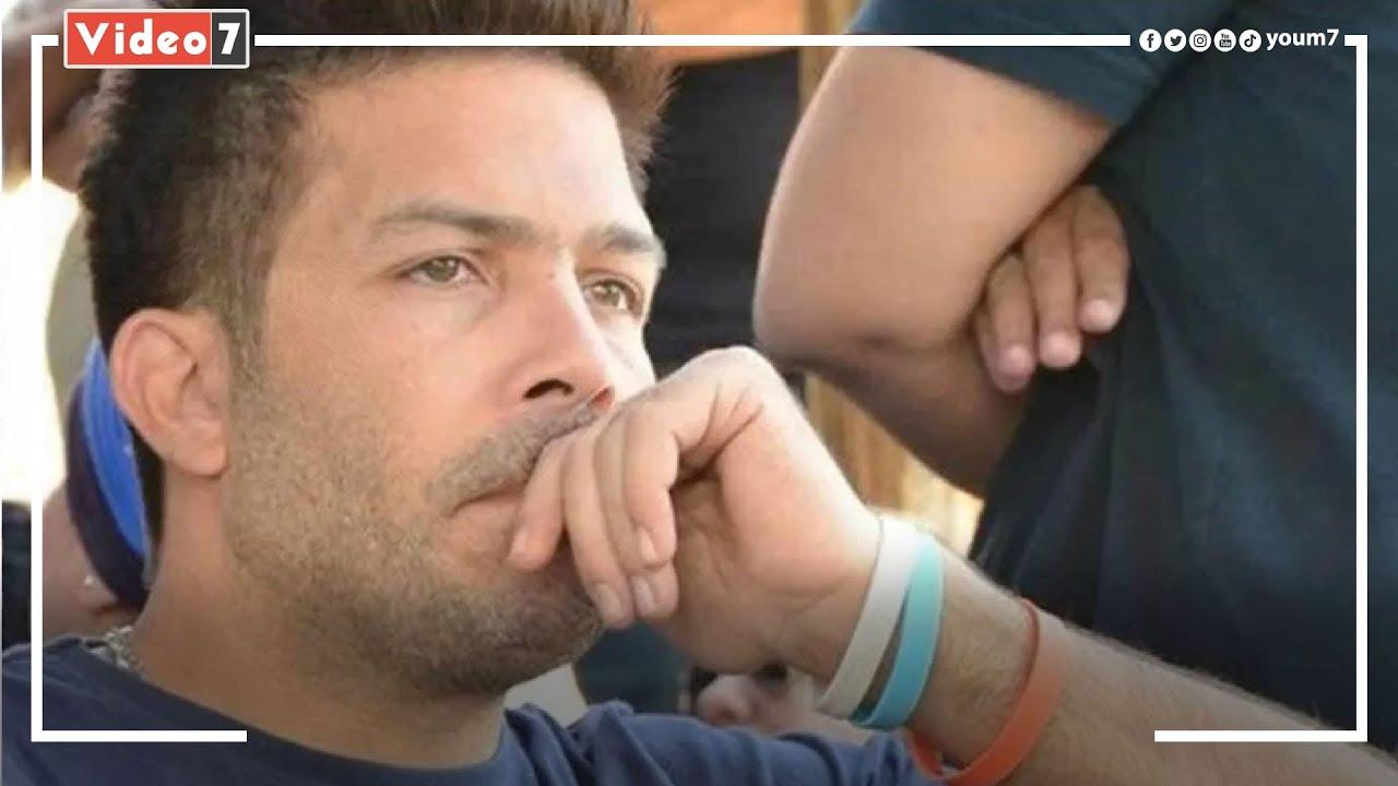 لحظة الاعتداء على الفنان ياسر فرج.. كاميرات المراقبة تكشف تفاصيل الحادث