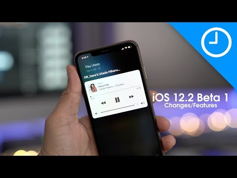 Apple releasing fifth iOS 12.2 developer beta today [U: Now available]