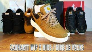 Nike X Carhartt Air Force 1 Review \u0026 on