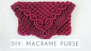 DIY: MACRAME BAG | HOW TO MAKE…