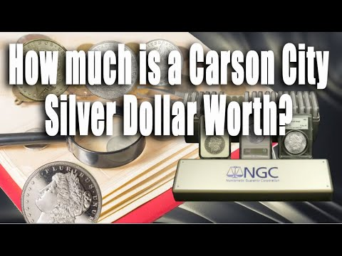 How Much Is A Carson City Silver Dollar Worth?