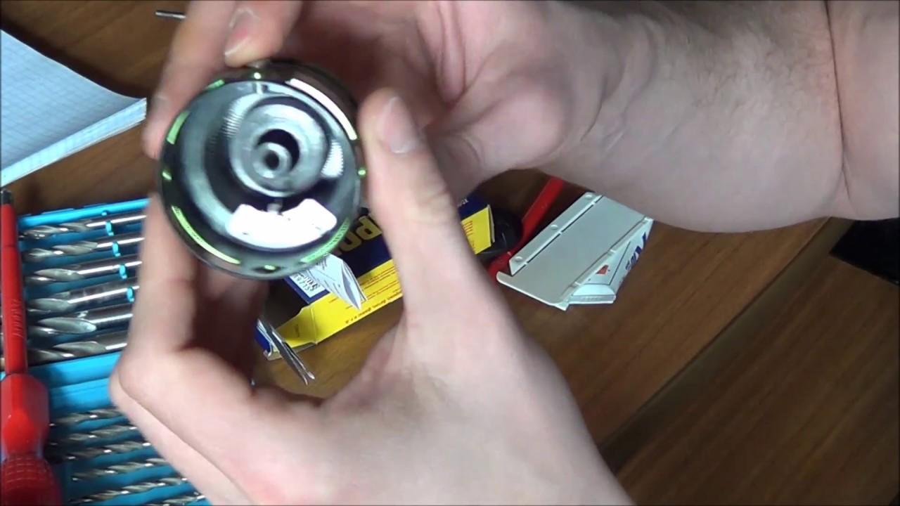 Как починить клипсу на катушке. Простой способ