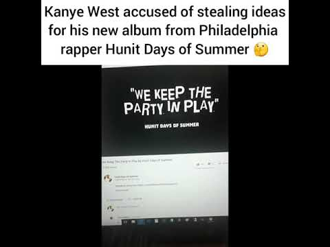 "Did Kanye West ""borrow"" ideas for 'Ye' from Hunit Days of Summer?"