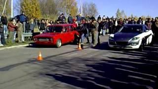 ВАЗ 2101 VS  Mazda RX 8
