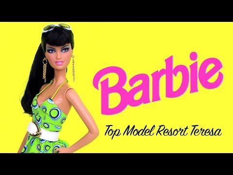 Barbie: Top Model Resort Teresa - Doll Unboxing and Review