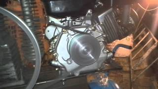 homemade gas air compressor