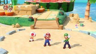 Super Mario Party Partner Party #388 Watermelon Walkabout Mario & Luigi vs Donkey Kong & Diddy Kong