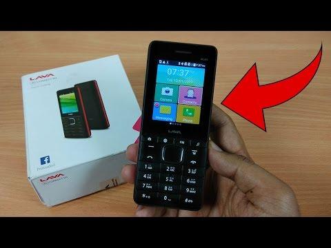 Lava 4G Connect M1 - Best Jio 4G VoLTE Feature Phone 2017?