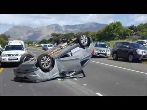 Cape Town South Africa - Crowbar Gang Suspects Killed In M3 Car Crash  12-10-2016