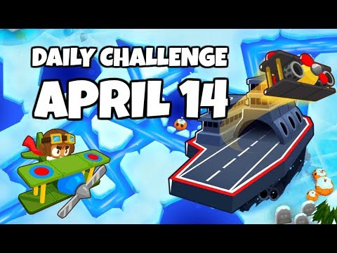 BTD6 Daily Challenge - Frozen Fruit Salad - April 14, 2019