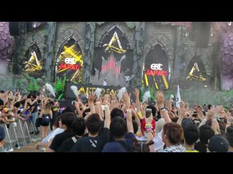 Afrojack live in EDC Japan 2017 (Intro + Part 1) 1080pHD