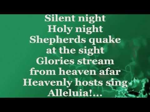 SILENT NIGHT (Lyrics) - SUSAN BOYLE