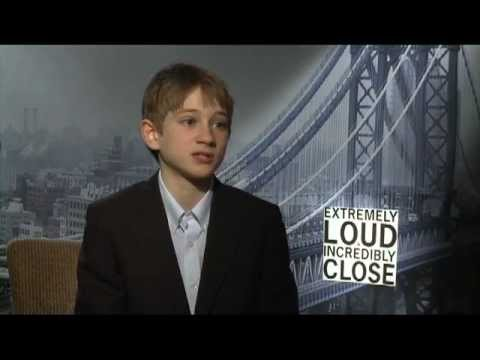 Thomas Horn's  WB  for 'Extremely Loud & Incredibly Close' on Celebs.com
