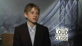 Thomas Horn's Official WB Interview For 'Extremely Loud & Incredibly Close' On Celebs.com