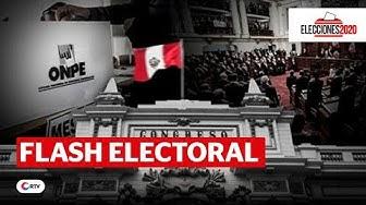 EN VIVO Flash Electoral Elecciones 2020 | RTV