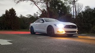 awe switchpath on an s550 mustang gt