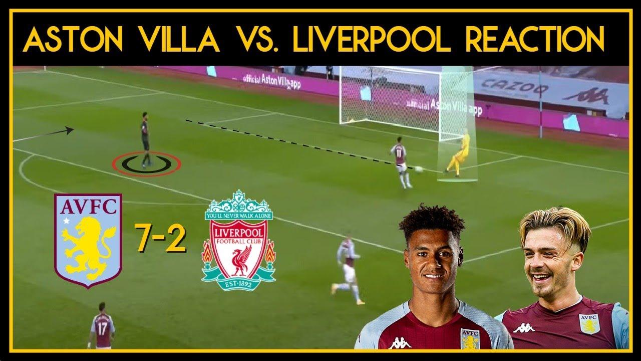 Aston Villa vs Liverpool Reaction 7-2 | The champions ...