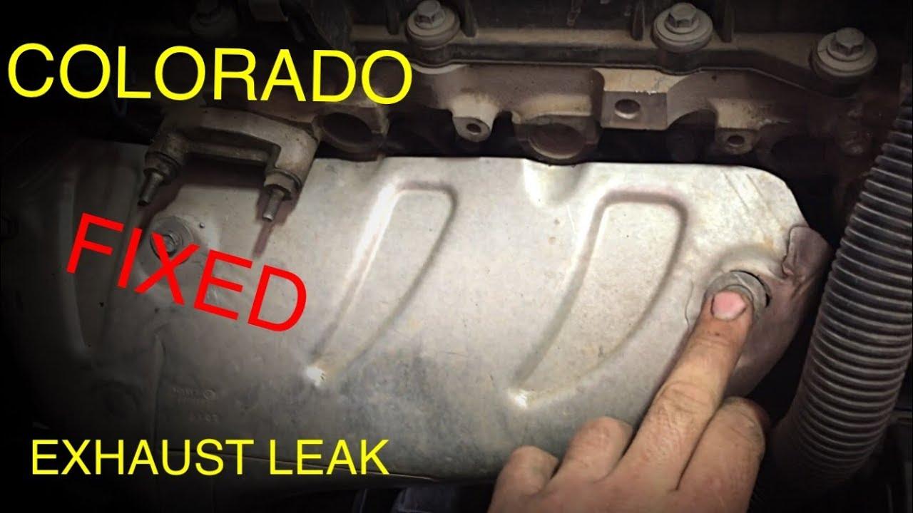 Chevrolet Colorado Exhaust Leak (FIXED)