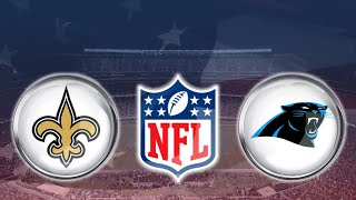NFL Live Stream New Orleans Saints vs Carolina Panthers Play by Play & Reaction