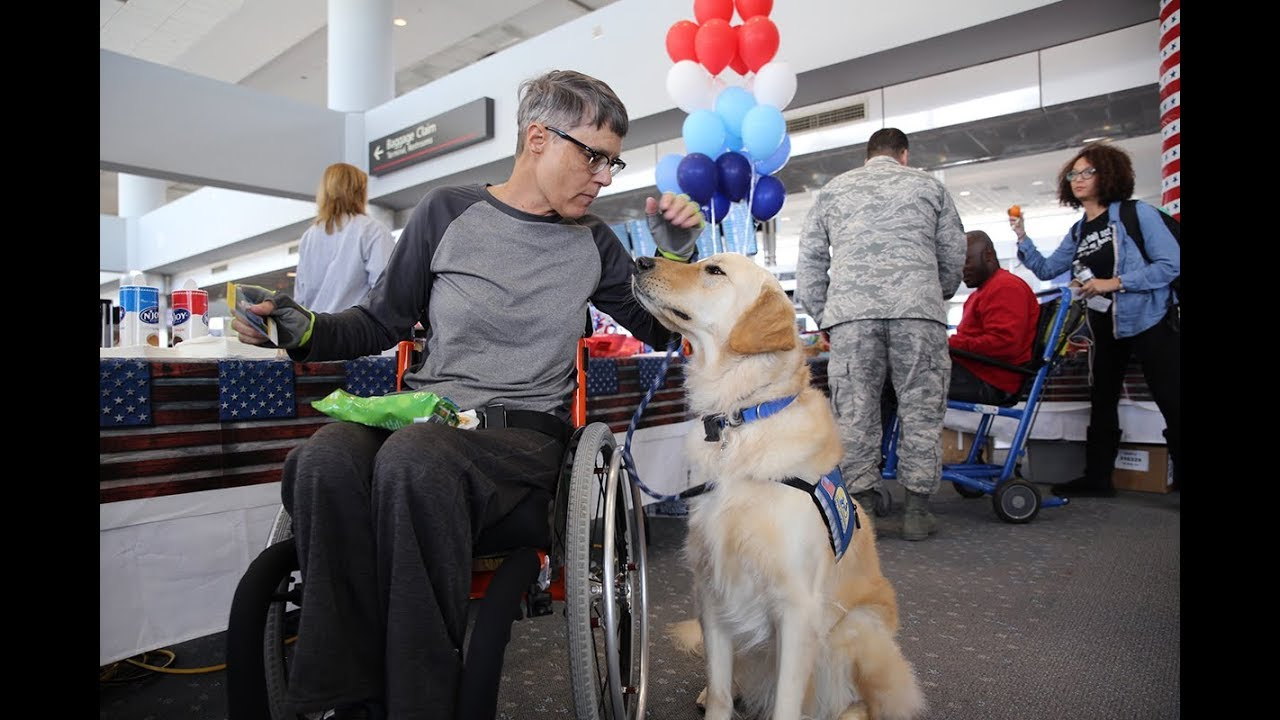 United - Flies disabled veterans to winter sports clinic