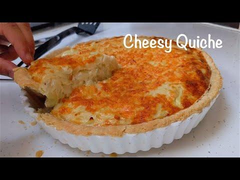 Quiche | Creamy Cheese & Onion Quiche