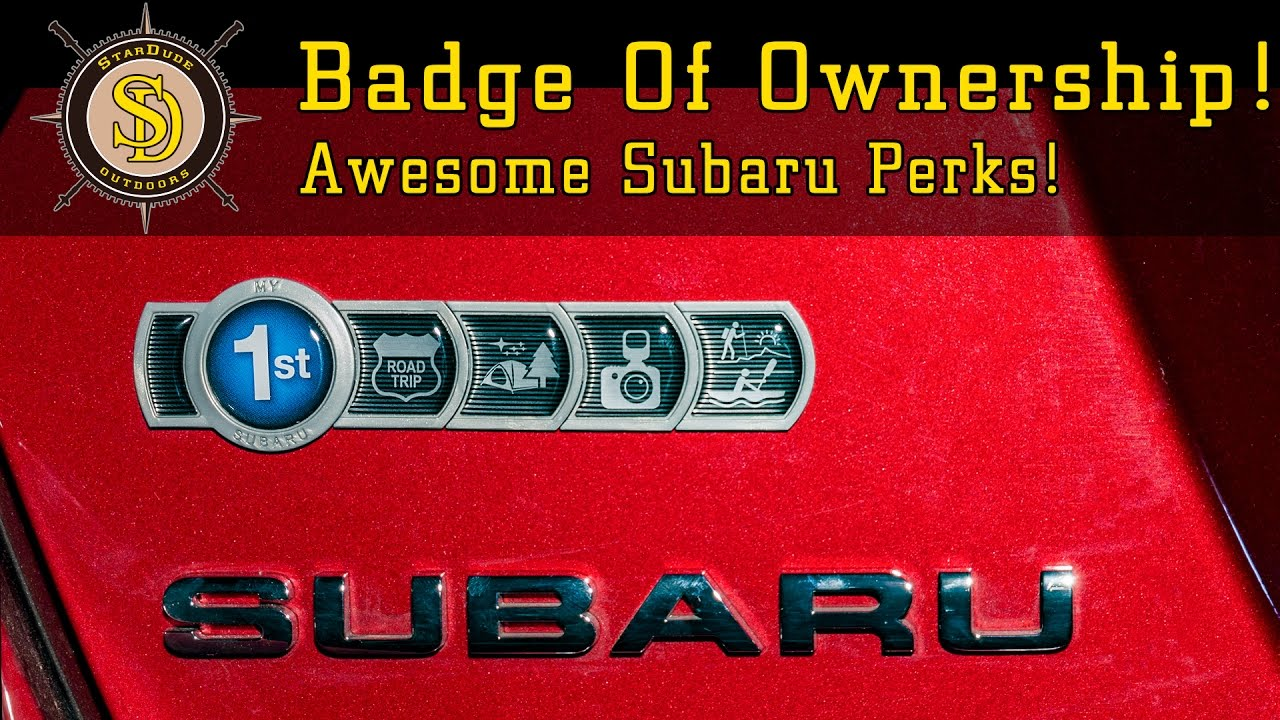 Subaru Badge Of Ownership >> Subaru Badge Of Ownership - Installation and Review - YouTube