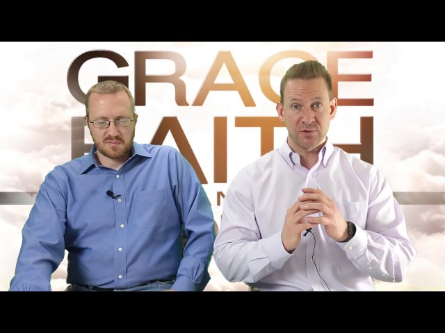 It's by GRACE through FAITH!  Part 1 (The Grace Side)