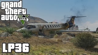 GTA5 - Flugzeugabsturz - Let's Play GTAV #36 - Grand Theft Auto five Deutsch