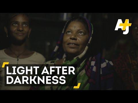 Solar Lamps Light Up Homes Of Mumbai's Poor