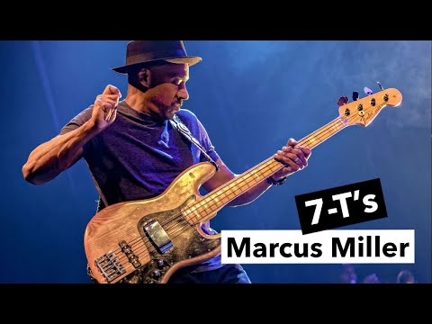 Marcus Miller - 7-T's 🎸 Bass Riff + TAB