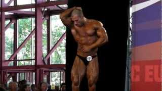 Nikolay Stoyanov - Competitor No 181 - Final - Classic Under 180cm - Arnold Amateur Europe 2012