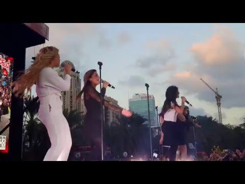 Fifth Harmony in Dubai (RedFest 2016)