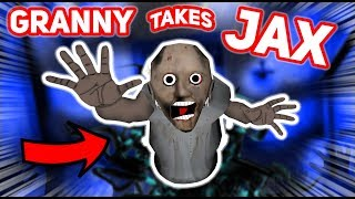 Granny Goes Too Far And TAKES JAX AWAY FROM US!!! | Granny The Mobile Horror Game (Story)