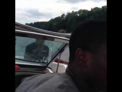 Video: Nick Saban Drives Speed Boat While His Alabama Players Go Tubing