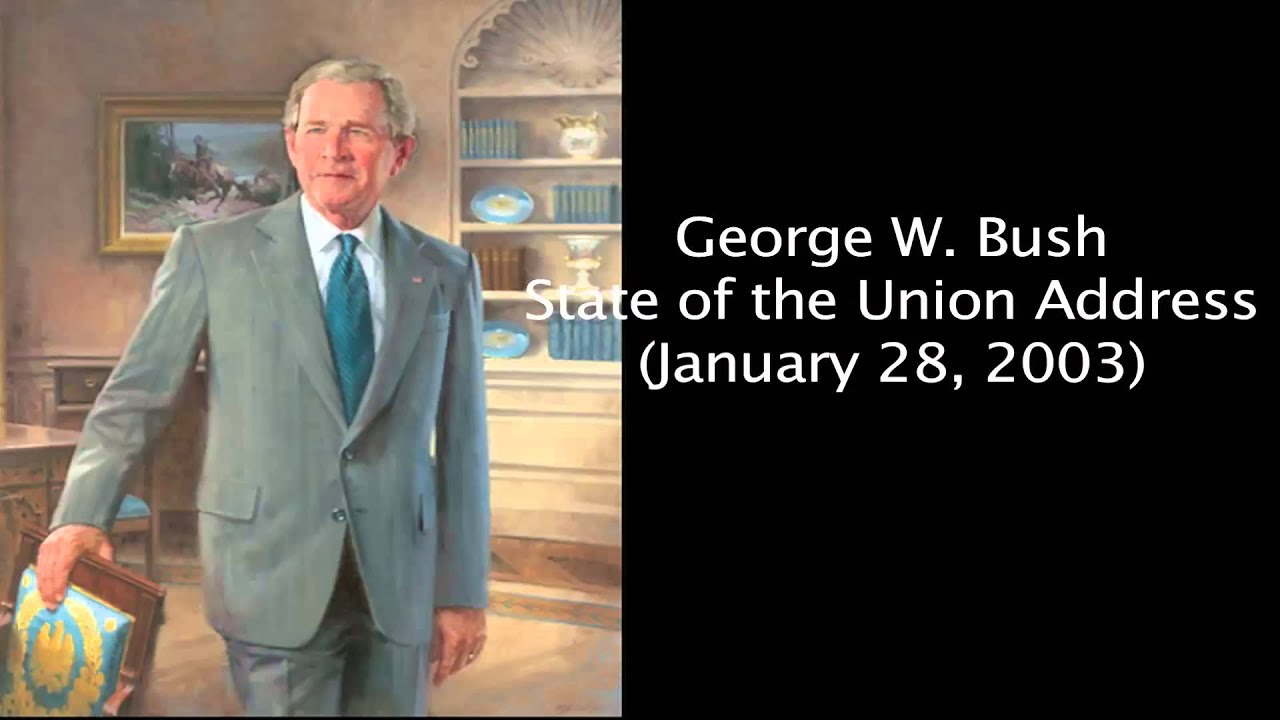 a rhetorical analysis of george w bushs address to the nation Rhetorical analysis of president barack obama's former president george w bush in the first part of his address, after thanking former president bush.