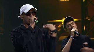 LGoony - Sosa feat. Trettmann & Crack Ignaz (Kitschkrieg Remix) [Live @ Red Bull Soundclash 2017]