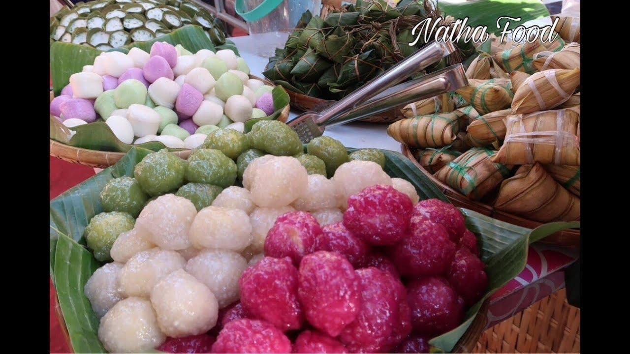 Lễ Hội Bánh Dân Gian Nam Bộ ở Cần Thơ 2018, Bánh Hỏi Mặt Võng, Bánh  Vú, Bánh Quặn || Natha Food