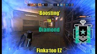 'Boosting' to Diamond - Rainbow Six Siege