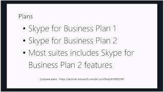Introduction to Skype for Business Online