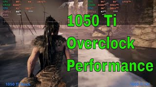 GTX 1050 Ti OC vs Stock !  is overclocking worth it ? FPS Test
