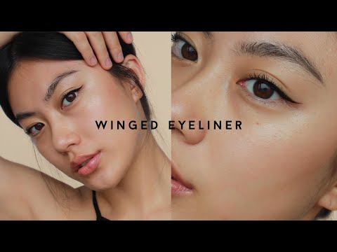 WINGED EYELINER MAKEUP