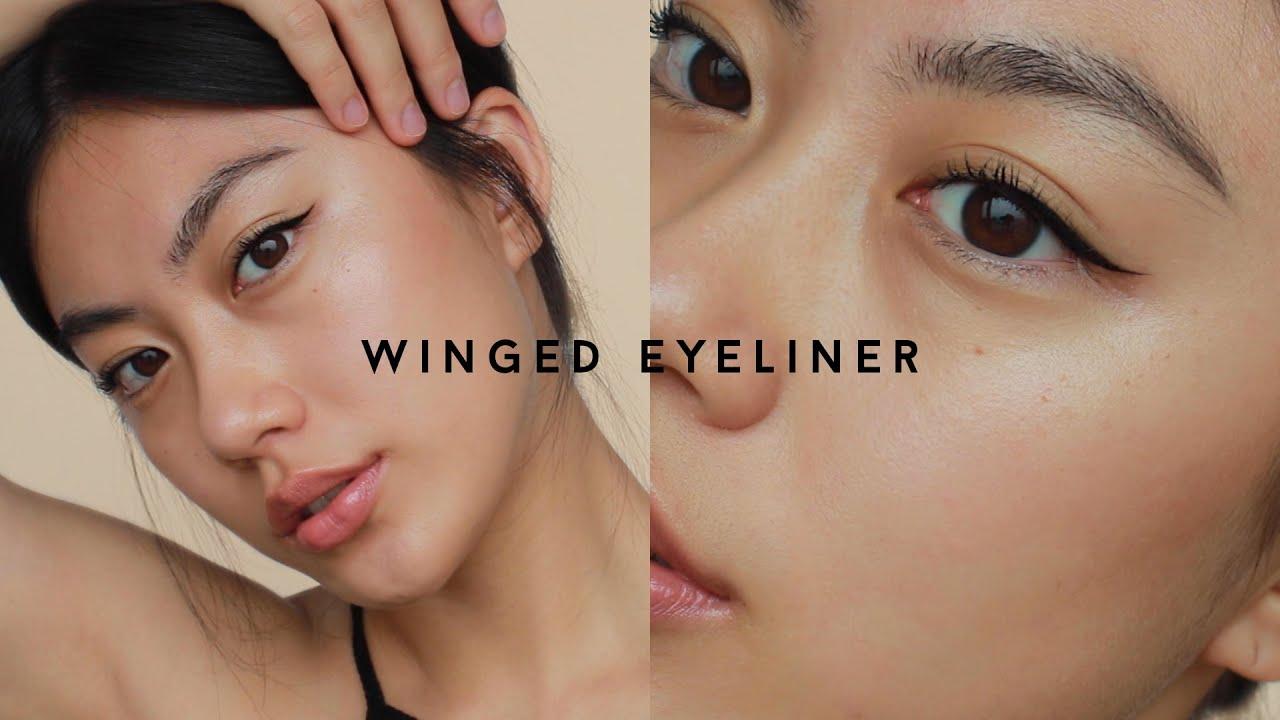 Download WINGED EYELINER MAKEUP LOOK