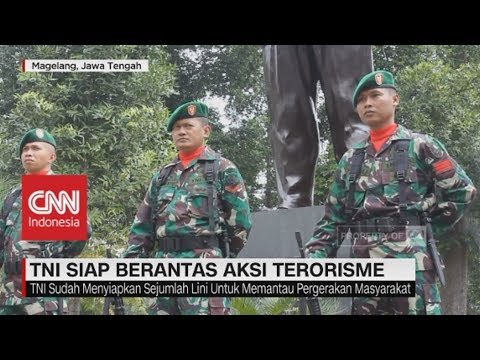 TNI Siap Berantas Aksi Terorisme