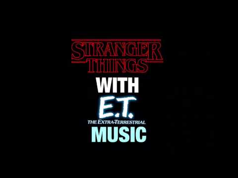 Stranger Things Bike Chase Scene Replaced With E.T. The Extra Terrestrial Music